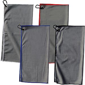 SUEDE GOLF TOWEL - Plain